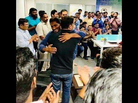 Jagan Thanks to Political Strategist Prashant Kishor & IPAC Team | for Landslide Victory