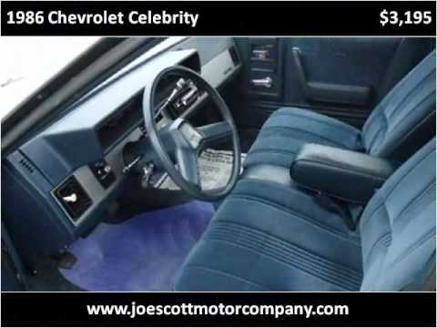 1986 chevrolet celebrity used cars montgomery birmingham