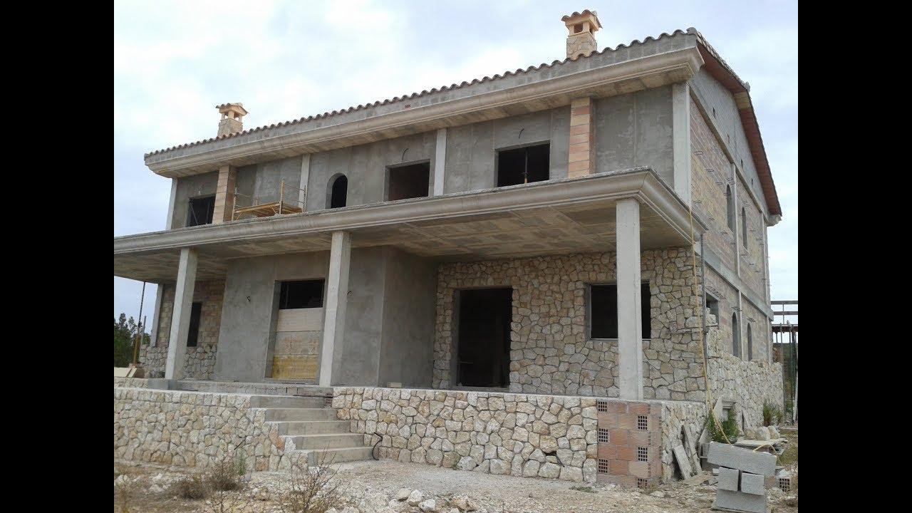 Pared de piedra construir una casa paso a paso sin for Construccion de casas paso a paso