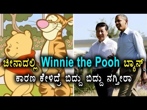 China bans Winnie the Pooh as Pooh resembles President Xi Jinping | Oneindia Kannada