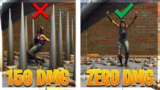 HOW TO DISABLE ENEMY SPIKE TRAPS! (Fortnite Battle Royale)