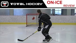 ccm super tacks stick on ice review with ryan from ccm montreal