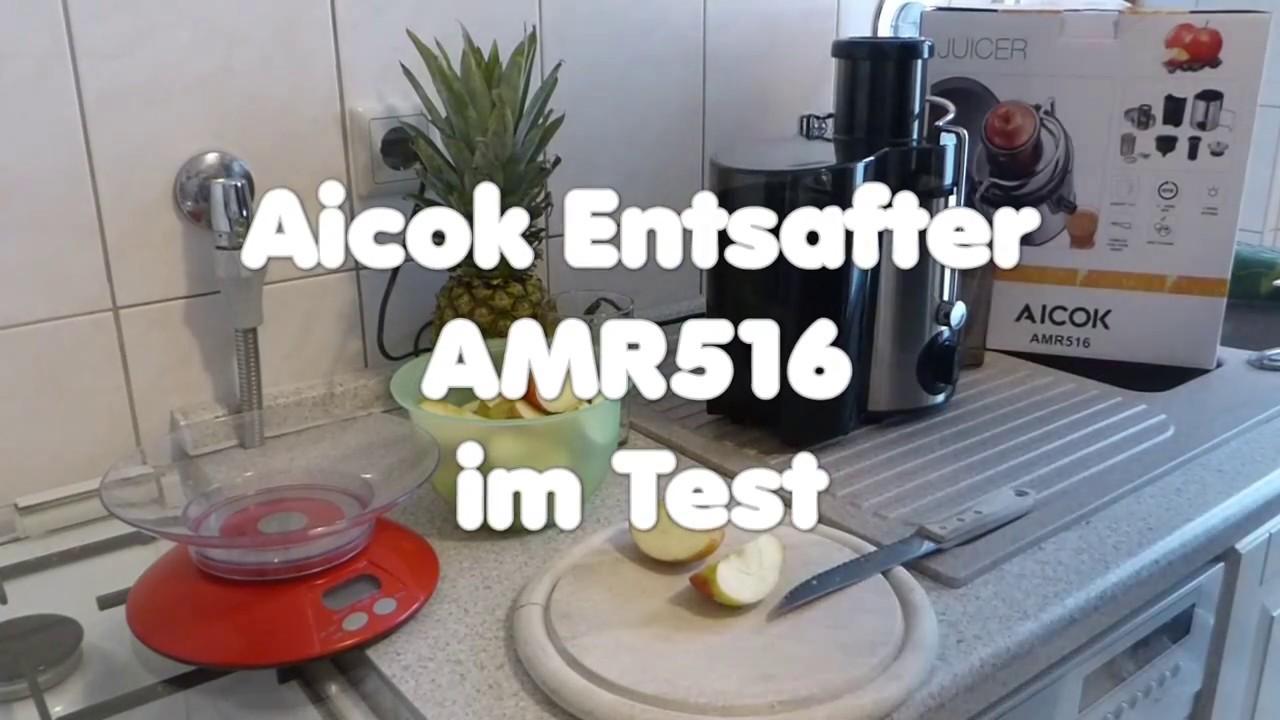 Aicok AMR516 Entsafter im Test Unser Testsieger beim Preis