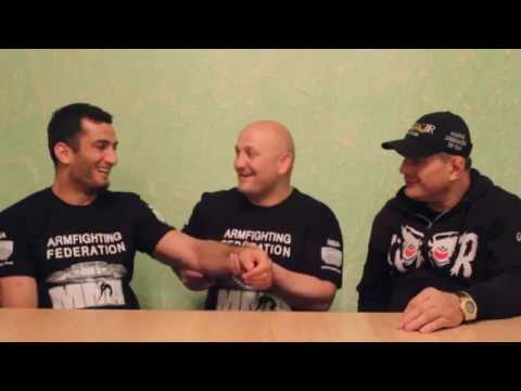Martakan Akumb program.Gegard Mousasi,Hayk Ghukasyan and Gok