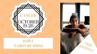 "Video CANCER - ""UNBELIEVABLE ENDING!"" OCTOBER 19-20 DAILY TAROT READING download MP3, 3GP, MP4, WEBM, AVI, FLV Oktober 2019"