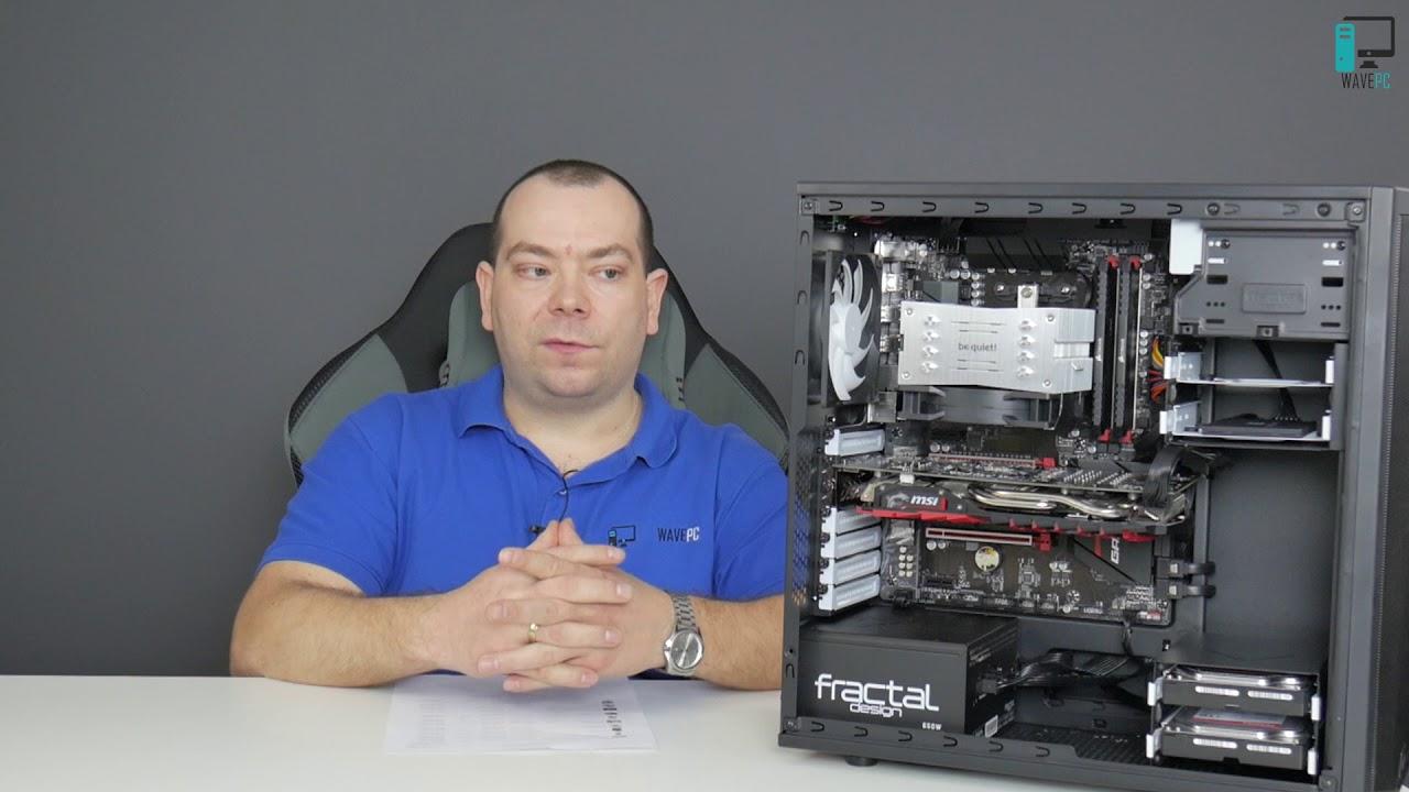 Składanie i prezentacja PC do gier z R7 1700X i RX 570