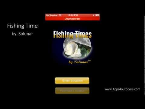 Fishing Times By ISolunar - App Review