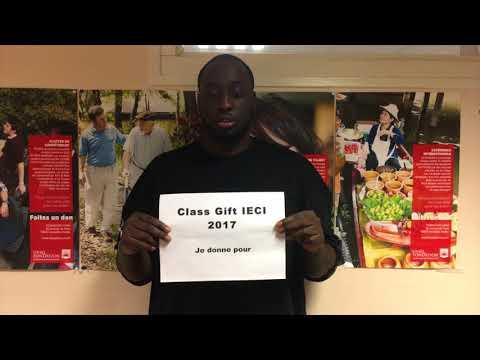 Class Gift IECI 2017