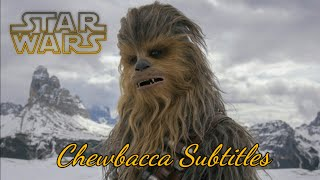 Chewbacca subtitles  (What Chewie really says)