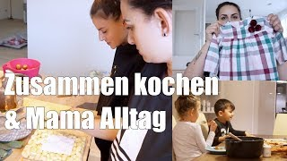 Mama Alltag   kochen  mit meinen Geschwistern   H&M Haul   Familienvlog   Filiz