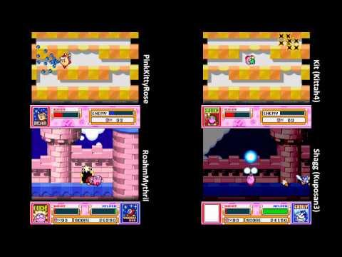Kirby Super Star Race - Part 01 : Spring Breeze (Easy Breezy)