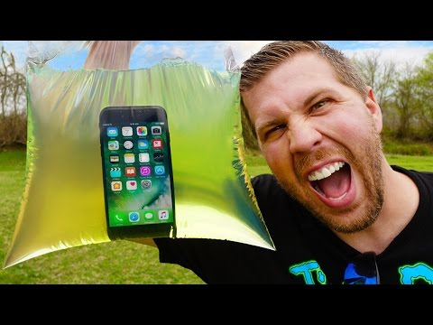 Thumbnail: Can iPhone 7 Survive 1 Gallon Gasoline Explosion? (WARNING: Epic Explosion!)