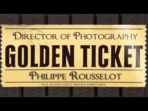 Charlie and the Chocolate Factory - Typographic Title Sequence