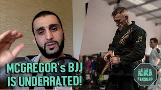 Firas Zahabi explains why Mcgregor did BETTER than Gaethje against Khabib