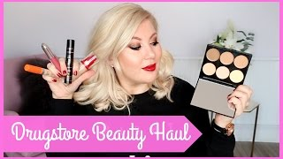 I've Forgotten How To Do a Drugstore Beauty Haul!!
