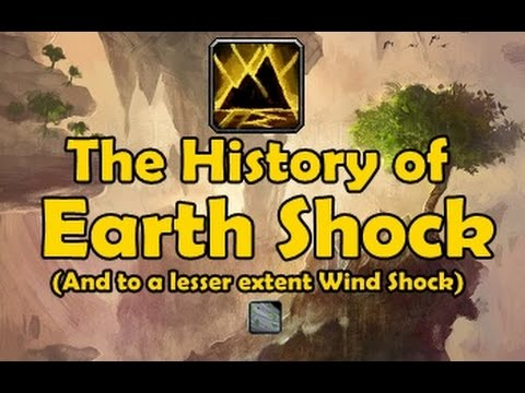 The History of Earth Shock (and to a lesser extent Wind Shock)