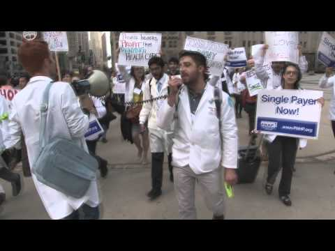 Medical Students Rally For Single Payer