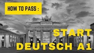 How to pass Start Deutsch A1