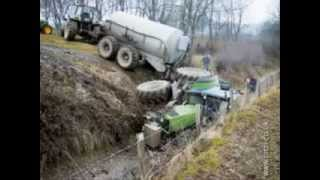 Voted Top Shocking Tractors Accidents 2014 vol 3 Best Ever Collection