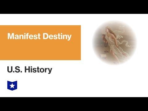 U.S. History | Manifest Destiny