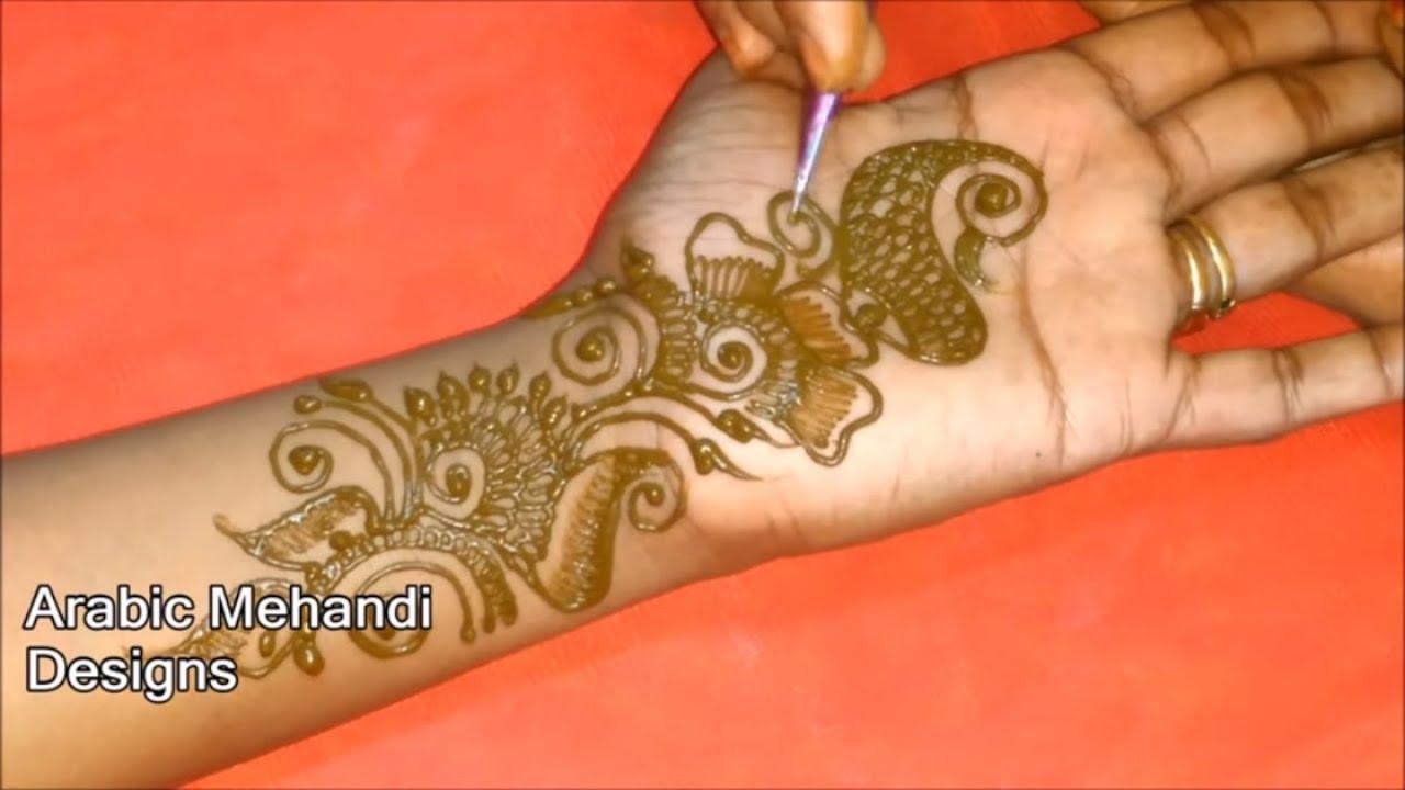 latest arabic mehandi designs for full hands