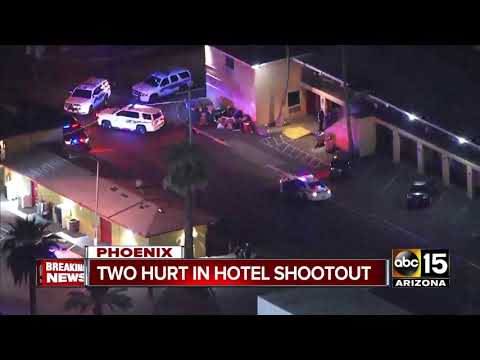 Two hospitalized after shooting near Sky Harbor Airport