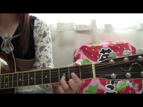 YUI Tomorrow's way 弾き語り/cover