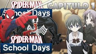 (Fanfic Crossover) Spiderman en Schooldays capitulo 1