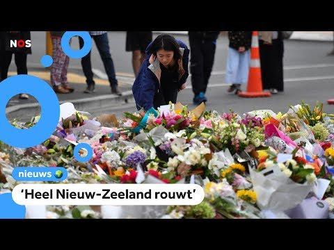 Slachtoffers aanslag Nieuw-Zeeland herdacht