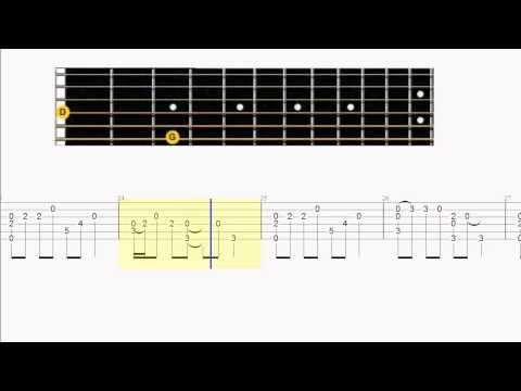 Guitar Tab - Fast Car - Cover - Chord Melody Fingerstyle Arrangement
