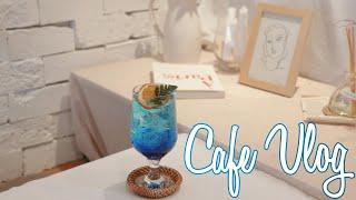 ENG) Cafe Vlog/ 카페 브이로그, 디저트카페…