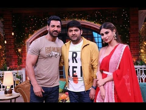 Mouni Roy in the Kapil Sharma show with John Abraham | RAW movie promotion