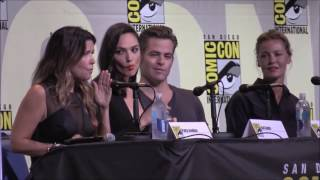 Chris Pine and Gal Gadot WONDER WOMAN