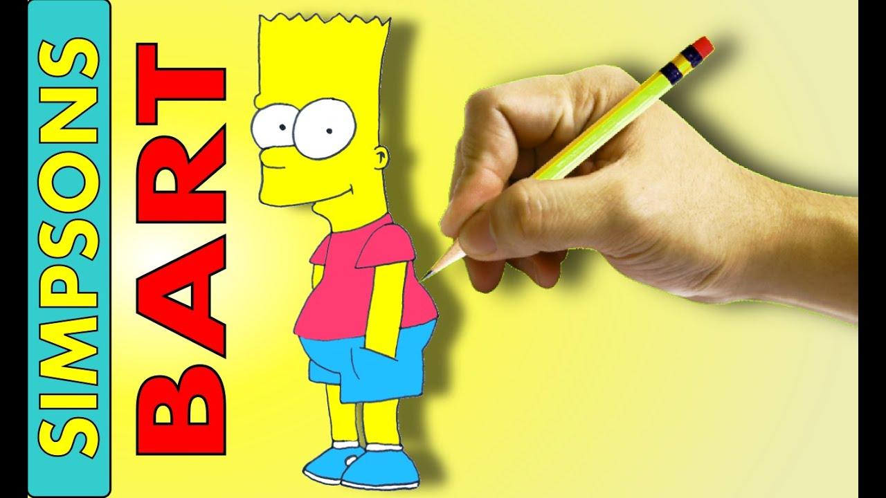 Comment Dessiner Bart Simpson Youtube