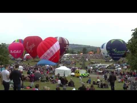 [HD1080] Mass Ascent (PM) @ Bristol International Balloon Fiesta 2014
