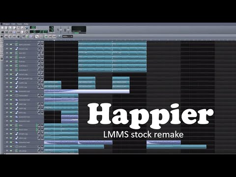 Marshmello ft. Bastille - Happier (LMMS stock remake) FREE DOWNLOAD