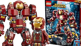 So many BAD choices - LEGO UCS Hulkbuster 2018 set pictures!
