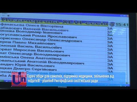 В Ужгороді годуватимуть самотніх мешканців. Рішення сесії міської ради