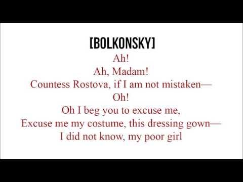 1.05 - Natasha and Bolkonskys