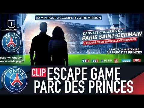 DANS LES COULISSES DU PARIS SAINT-GERMAIN - ESCAPE GAME NOUVELLE GENERATION