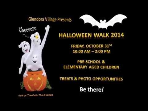 Glendora Village  Halloween Walk 2014