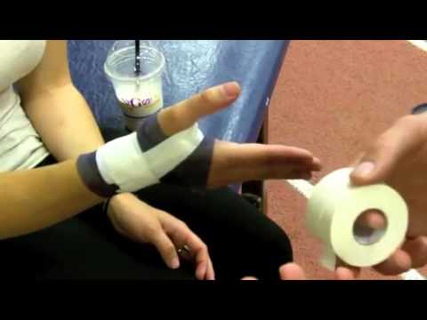 Гиперэкстензионная повязка на большой палец руки