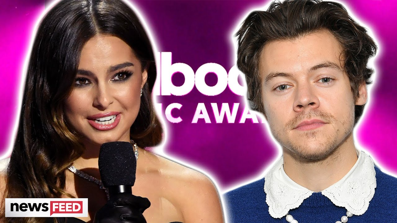 Addison Rae Outrages Harry Styles Fans By Accepting His Bbma Award Youtube