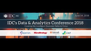 IDC Data and Analytics Conference UK 2018