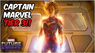 [Marvel Future Fight] Captain Marvel T3 ABX / Капитан Марвел Т3 БС - 4,952,386