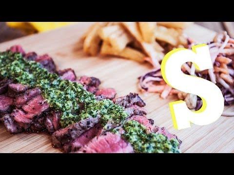 Chimichurri Steak... Sorted Eats Brazil