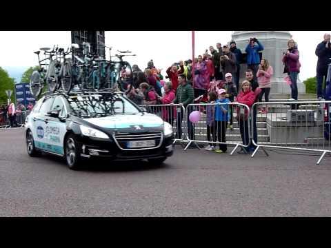 Giro d'Italia 2014 Stage 1 Stormont Hill Omega Pharma Quickstep