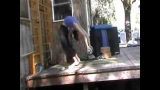 Backbending with weight