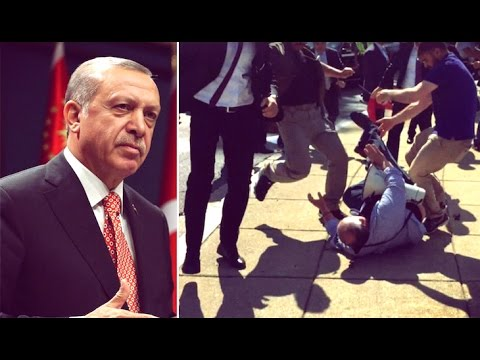 Turkish Officials Attack Peaceful Protesters… in America