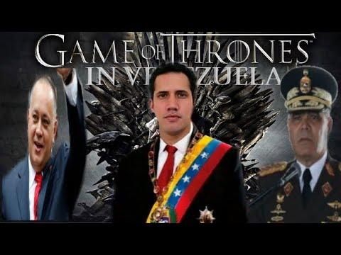 GAME OF TRONE,LA LUCHA POR EL PODER EN VENZUELA QUIEN LLEVARA LA TRANSICION GUAIDO O PADRINO LOPEZ.